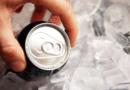 bebida no gelo